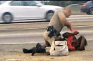 All California Law Enforcement are cursed by this beating never to brutalize another woman.